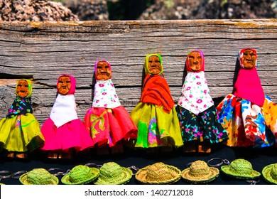 Crafts Raramuris, Creel Chihuahua, Mexico