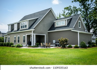 Craftsman Cottage Style Modern Suburban House in Subdivision