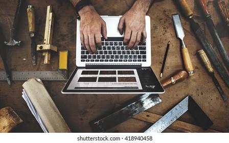 Craftsman Profession Occupation Pursuit Skilled Concept