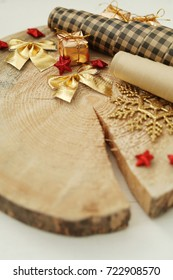 Craftsmanship and Christmas. Tools on the table