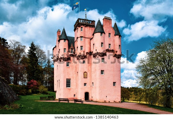 Craigievar Castle, North East Scotland