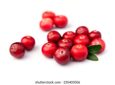 Cranberries closeup.