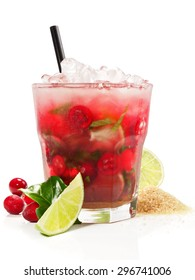 Cranberry-Mint Cocktail