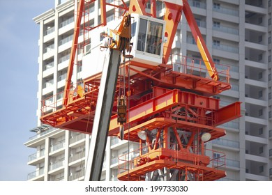 Crane Building Construction Sites