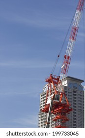 Crane Building Construction Sites