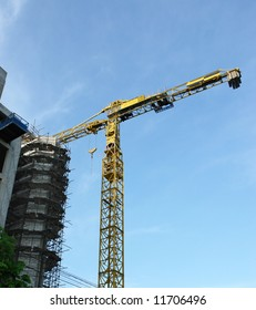 crane construction real estates building