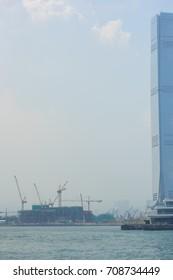 Crane in Hong Kong