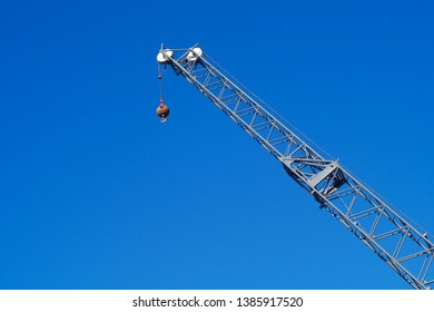 crane lift construction site industrial machine heavy hoist development