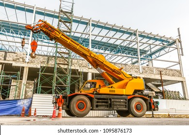 Cranes, Hydraulic Cranes, Construction Site, Crane Installation, Building Design