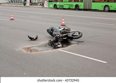 crash on the city road