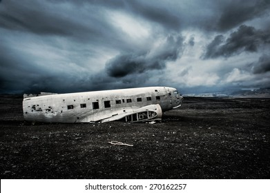 Crash plane in Iceland