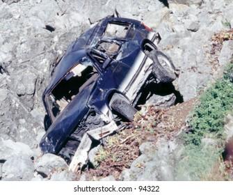 Crashed Auto