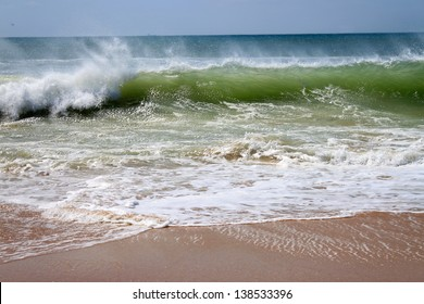 Waves Crashing On Beach Images, Stock Photos & Vectors | Shutterstock