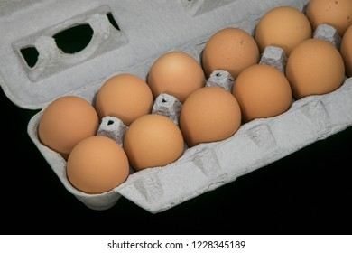 Crate of eggs.