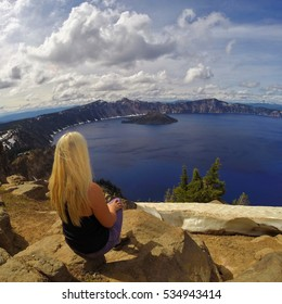 Crater Lake National Park is in the Cascade Mountains of southern Oregon. Its known for its namesake Crater Lake, formed by the now-collapsed volcano, Mount Mazama.