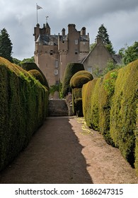 Crathes Castle in Banchory, Scotland