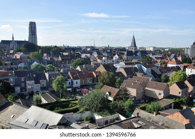 craw eyes view of Mechelen,from Dossin museum.