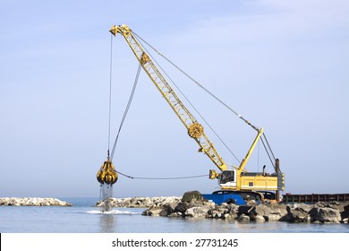 Crawler Crane Images, Stock Photos & Vectors | Shutterstock