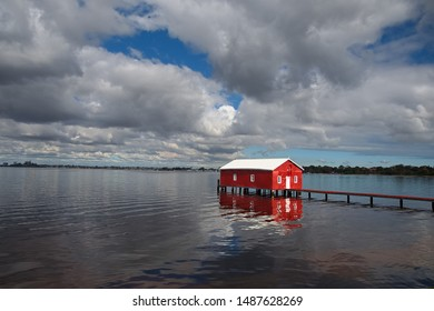 Crawley Boatshed on the Swan River, Perth Western Australia