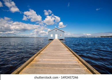 The Crawley Edge Boatshed is a well-recognized and frequently photographed site in Western Australia. It is thought to have been originally constructed in the early 1930s., and refurbished.