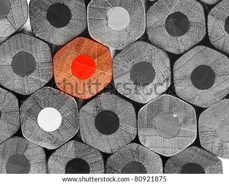 e5a8360915ba Crayons Stack Texture Black White Stockfoto (Jetzt bearbeiten ...
