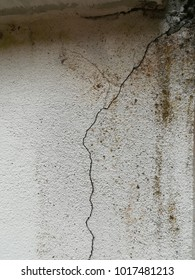 craze surface plastered of cement wall. cement cracked texture