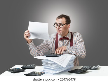 Crazy accountant