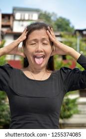 Crazy Asian Granny