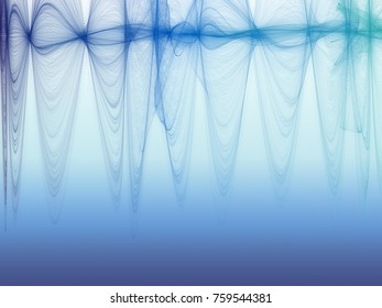 Crazy colorful abstract background with creative shapes from flame wave brush