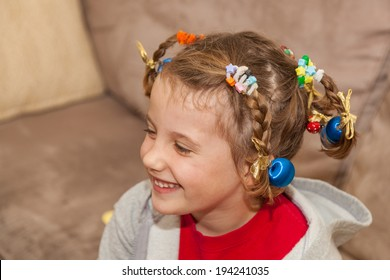 Crazy Hair Day at school is usually a day during a school's spirit week