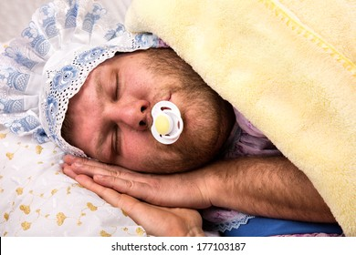 Baby Funny Sleeping Images Stock Photos Vectors Shutterstock