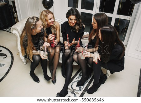 Party of five pantyhose are not