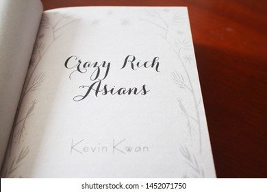 Crazy Rich Asians Book by Kevin Kwan