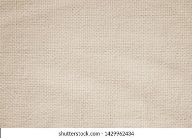 Cream abstract cotton towel mock up template fabric on with background. Wallpaper of artistic wale linen canvas. Blanket or Curtain of pattern and copy space for text decoration. Interior design wall.