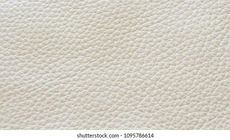 Cream, beige leather for background or texture use