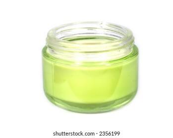 Cream for a body