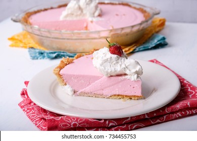 cream cheese jello gelatin pie with whipped cream, a ketogenic diet meal