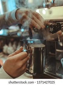 Cream for coffee