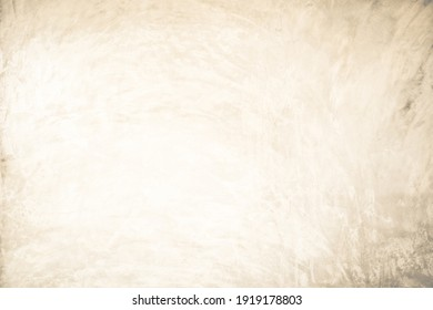 Cream concreted wall for interiors or outdoor exposed surface polished concrete.