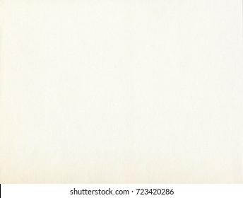 Cream watercolor textured fiber paper blank surface