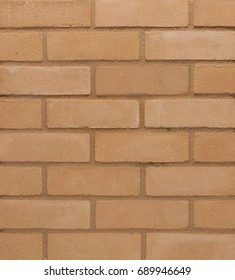 Creamy brick wall texture