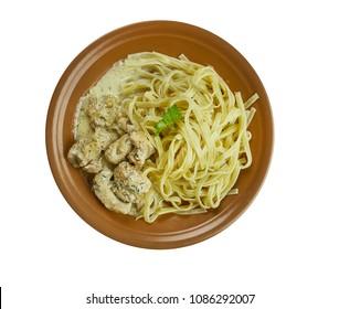 Creamy Cajun Linguine noodles pasta,  perfect family meal