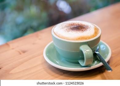 Creamy hot Cappuccino