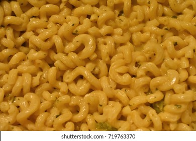 Creamy Macaroni And Cheese Close Up