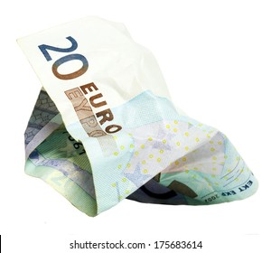 creased money