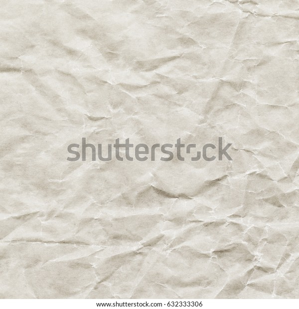 Creased recycled paper texture background