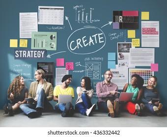 Create Design Strategy Vision Concept