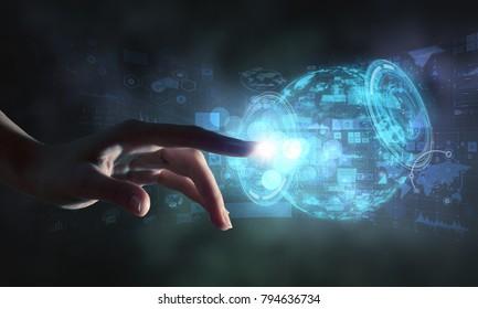 Creating innovative technologies . Mixed media