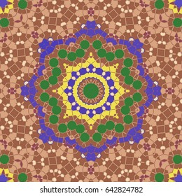 Creative abstract background.Raster illustration For the textile, carpet ornaments patterns Persian relief Decoration in Oriental style The beauty of the background.Decorative texture Modern ornament.