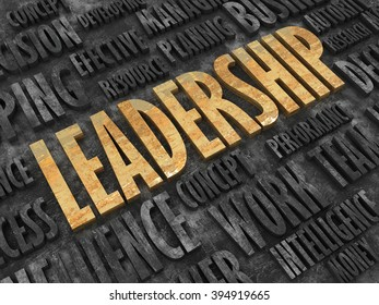 Creative abstract business leadership background